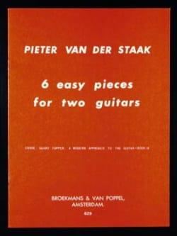 6 Easy pieces for 2 guitars Pieter van der Staak laflutedepan