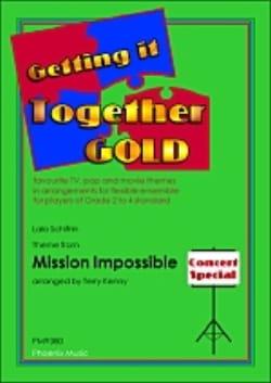 Mission impossible -Ensemble Lalo Schifrin Partition laflutedepan