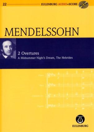 Ouvertures : Songes D'une Nuit D'été Op. 21 et les Hébrides Op.26 laflutedepan