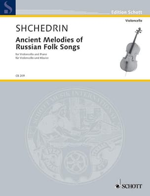 Ancient Melodies Of Russian Folk Songs Rodion Shchedrin laflutedepan