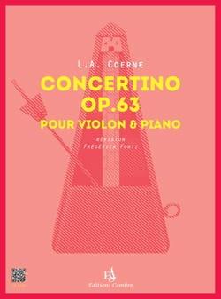 Concertino, opus 63 - Violon et piano - laflutedepan.com