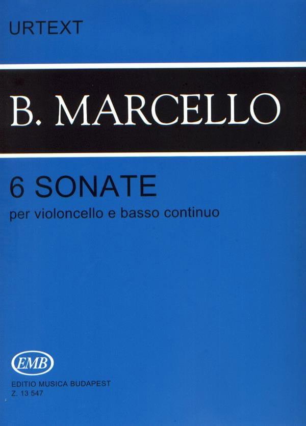 6 Sonates pour violoncelle et basse continue - laflutedepan.com