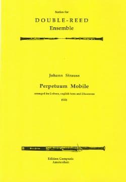 Perpetuum Mobile - 2 Oboes english horn 2 bassoons laflutedepan