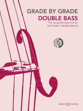 Grade by Grade 3 - Double Bass Partition Contrebasse - laflutedepan