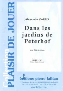 Dans les jardins de Peterhof - Flûte Alexandre Carlin laflutedepan
