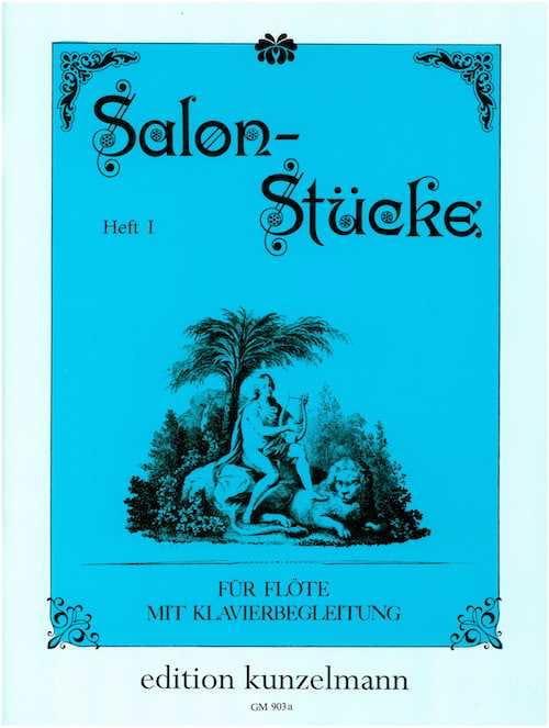 Salon-Stücke - Heft 1 - Flöte Klavier - laflutedepan.com