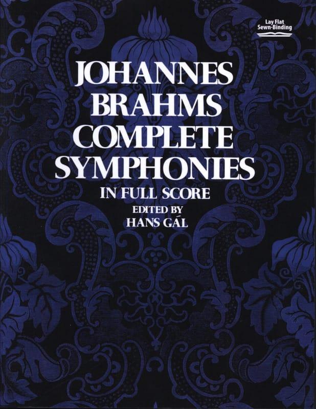 Complete Symphonies - Full Score - BRAHMS - laflutedepan.com