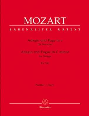 Adagio und Fuge c-moll KV 546 für Streicher - Conducteur et Parties instrumenta laflutedepan