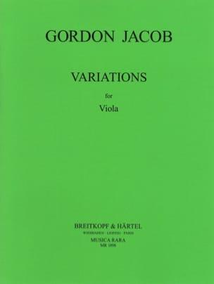 Variations Gordon Jacob Partition Alto - laflutedepan