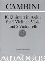 Quintette Nr. 10 En la Maj. Giuseppe Maria Cambini laflutedepan