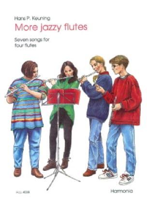 More Jazzy Flutes - 4 Flutes - Hans P. Keuning - laflutedepan.com