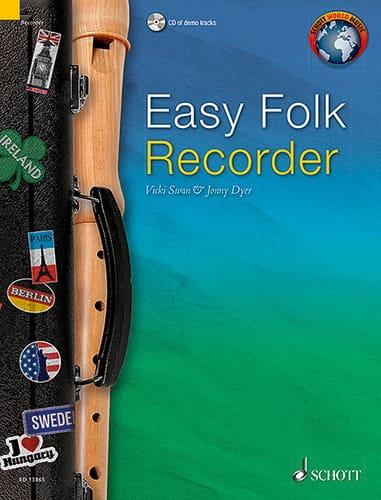Easy Folk Recorder - Partition - Flûte à bec - laflutedepan.com