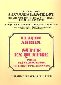 Suite en quatre -Conducteur + parties Claude Arrieu laflutedepan
