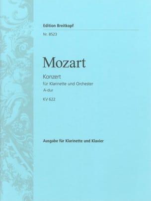 Konzert A-Dur KV 622 - Klarinette Klavier MOZART laflutedepan