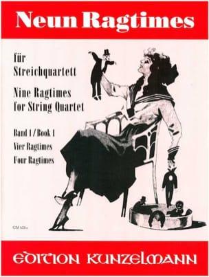 9 Ragtimes für Streichquartett, Band 1 laflutedepan