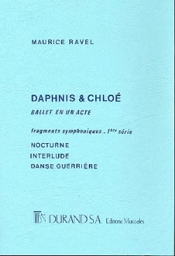 Daphnis et Chloé 1ère Suite - Conducteur - RAVEL - laflutedepan.com