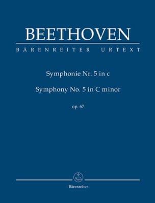 Symphonie N° 5 en Ut Min. Op. 67 BEETHOVEN Partition laflutedepan
