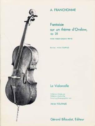 Fantaisie sur un thème d' Onslow op. 28 - laflutedepan.com