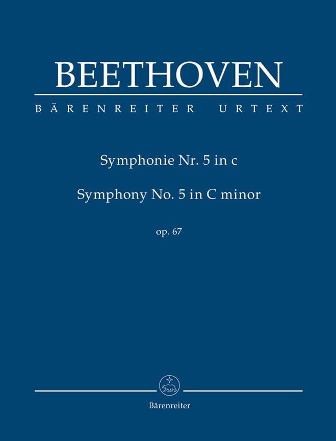 Symphonie N° 5 en Ut Min. Op. 67 - BEETHOVEN - laflutedepan.com