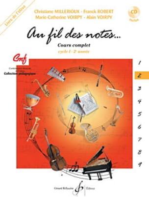 Au Fil des Notes - Volume 2 - Elève - laflutedepan.com