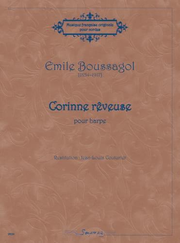 Corinne rêveuse - Emile Boussagol - Partition - laflutedepan.com