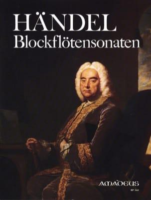 Blockflötensonaten HAENDEL Partition Flûte à bec - laflutedepan