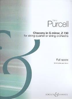 Purcell Henry / Britten Benjamin - Chacony en sol menor 730 para cuerdas - Puntuación - Partition - di-arezzo.es