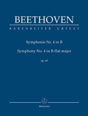 Symphonie N° 4 En Sib Maj. Op.60 BEETHOVEN Partition laflutedepan