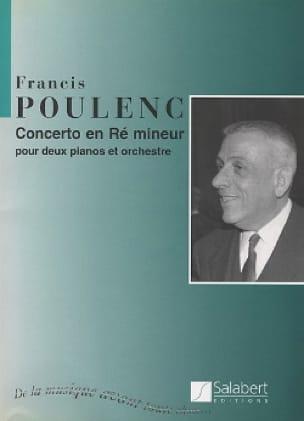 Concerto en ré mineur pour 2 Pianos - Conducteur - laflutedepan.com