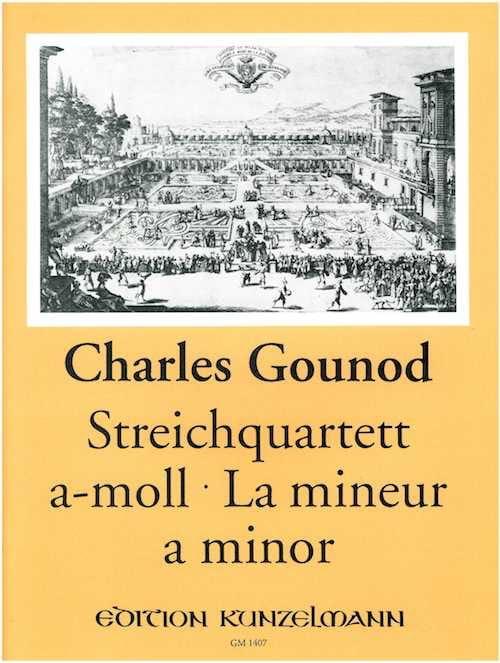 Quatuor à cordes en la mineur -Stimmen - GOUNOD - laflutedepan.com