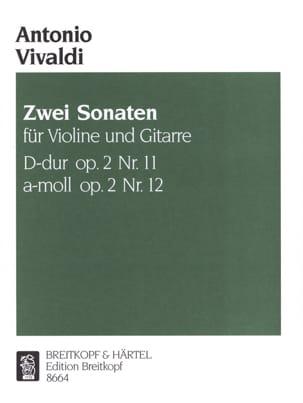 2 Sonates Op. 2 N° 11-12 VIVALDI Partition 0 - laflutedepan