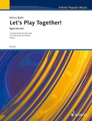 Let's Play Together - 2 Klarinetten Heinz Both Partition laflutedepan