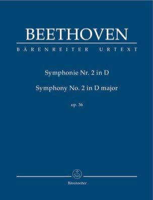 Symphonie N° 2 en Ré Maj. Op. 36 BEETHOVEN Partition laflutedepan