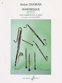 Humoresque op.101 n°7 - Clarinette DVORAK Partition laflutedepan
