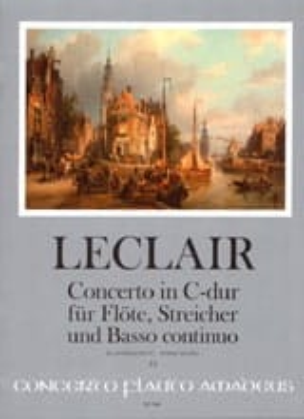 Concerto Opus 7 N° 3 en Do Majeur LECLAIR Partition laflutedepan
