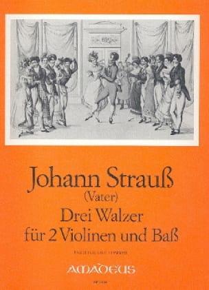 3 Walzer für 2 Violinen und Bass - laflutedepan.com
