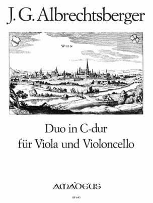 Duo in C-Dur für Viola und Violoncello laflutedepan