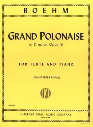 Grande Polonaise, op. 16 Theobald Boehm Partition laflutedepan