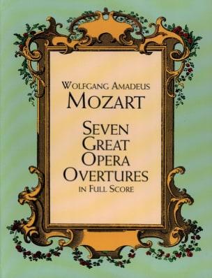 Seven Great Opera Overtures - Full Score MOZART Partition laflutedepan