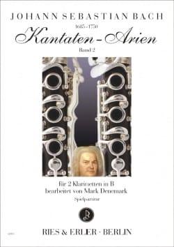 BACH - Kantaten-Arien Band 2 - Partition - di-arezzo.de