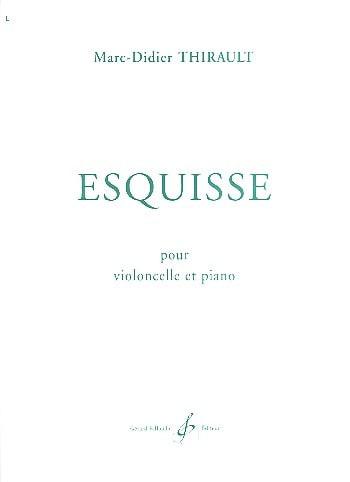 Esquisse - Marc-Didier Thirault - Partition - laflutedepan.com