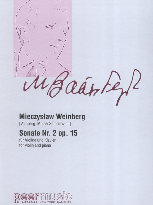 Sonate n° 2 opus 15 - Mieczyslaw Weinberg - laflutedepan.com