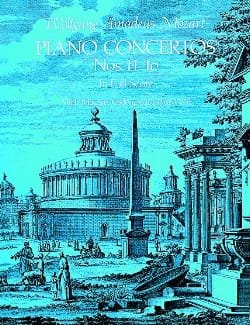 Piano Concertos N° 11-16 - Full Score MOZART Partition laflutedepan