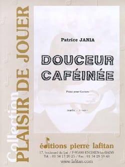 Douceur caféinée - Patrice Jania - Partition - laflutedepan.com