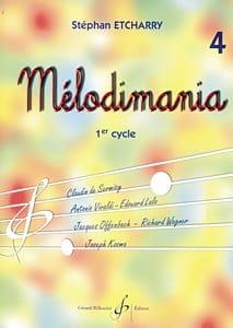 Mélodimania - Volume 4 Stephan Etcharry Partition laflutedepan