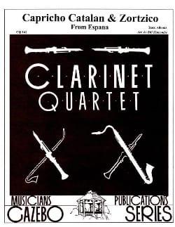 Capriccio Catalan / Zortzico - 4 clarinettes ALBENIZ laflutedepan
