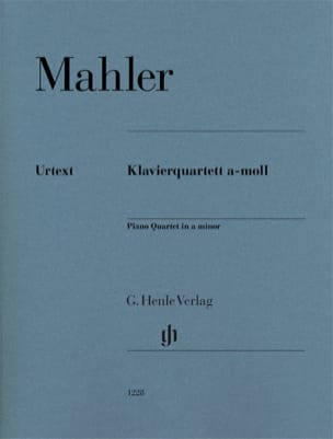 Quatuor pour cordes et piano en la mineur MAHLER laflutedepan