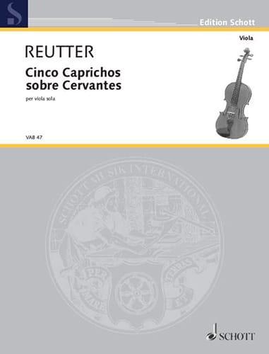 Cinco Caprichos sobre Cervantes - Hermann Reutter - laflutedepan.com