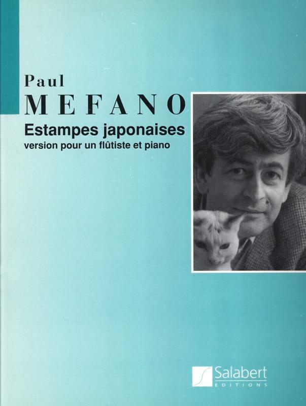 Estampes japonaises - Flûte et piano - Paul Méfano - laflutedepan.com