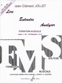 Lire Entendre Analyser Volume 1 - Prof laflutedepan